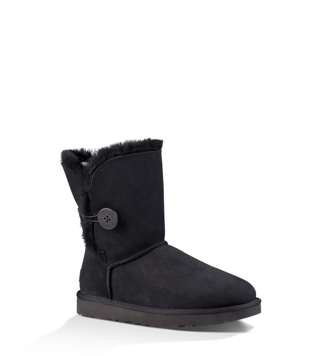 Women's UGG® BAILEY BUTTON II BLACK