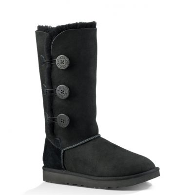 Women's UGG® BAILEY BUTTON TRIPLET II BLACK