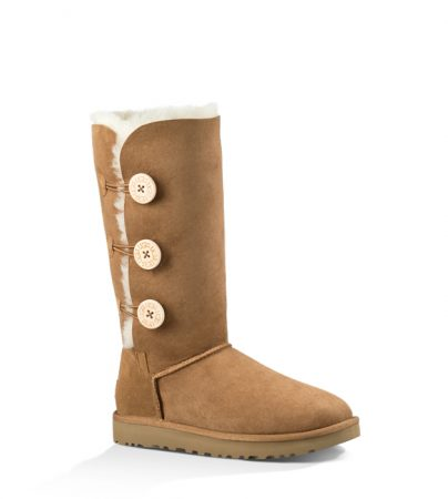 Women's UGG® BAILEY BUTTON TRIPLET II CHESTNUT