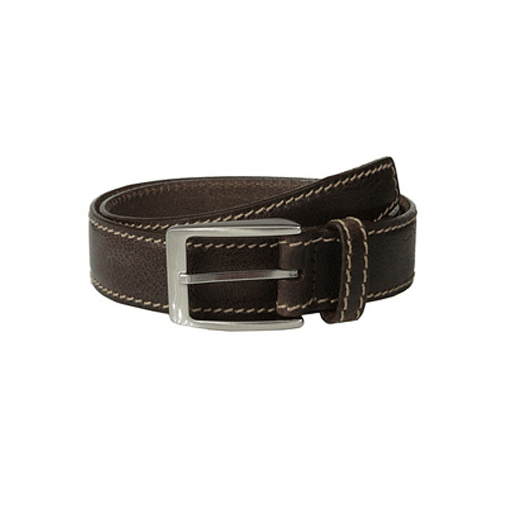 O'Neal Chocolate Leather Men's Brighton Belt #M11398