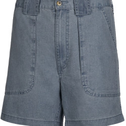 Men's Hook & Tackle® Original Beer Can Island® Short Chambray Blue MO19800