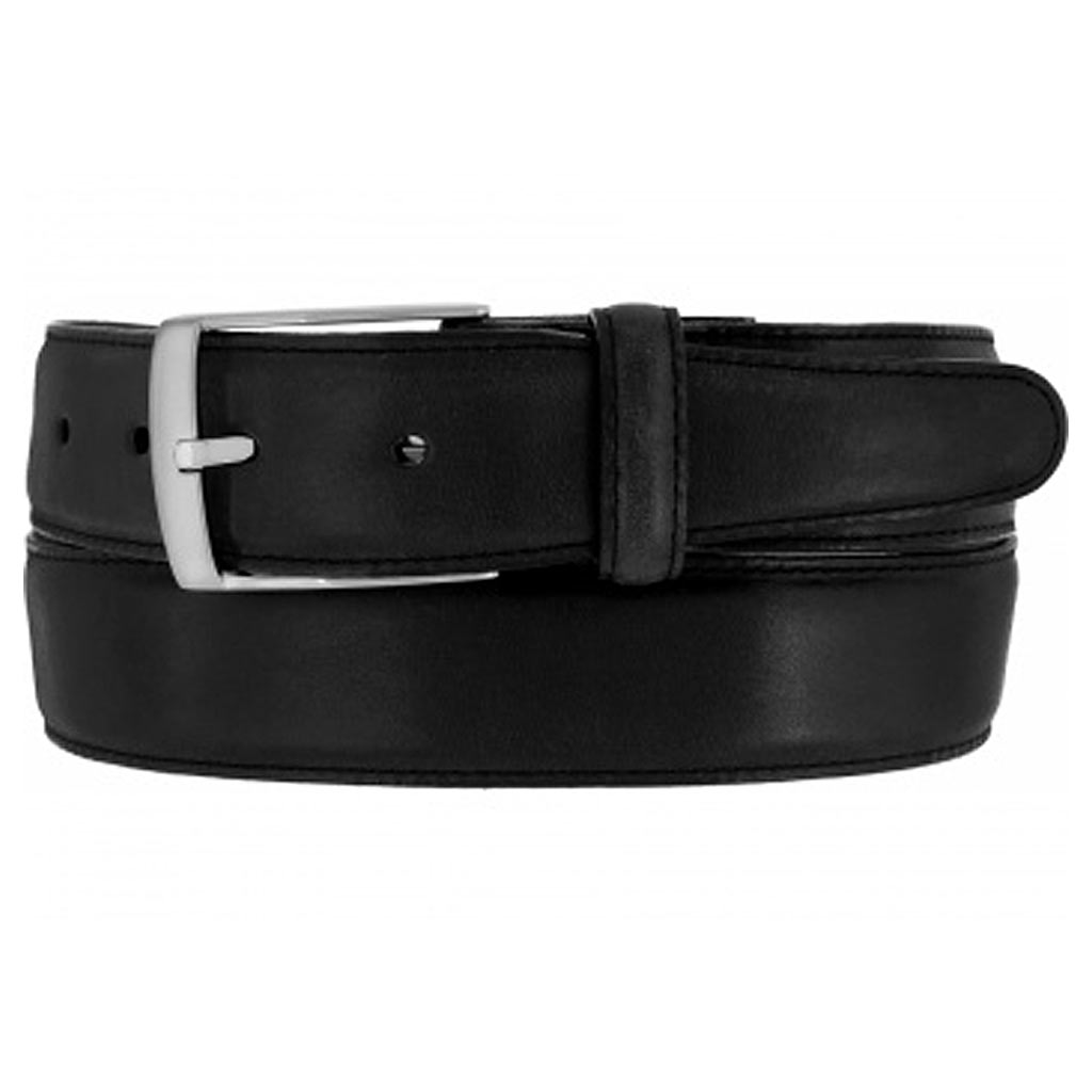 Men's Brighton Salerno Leather Belt #M11423 Black