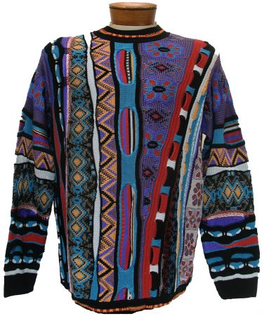 Men's Tundra, Coogi Look Sweater by Steven Land #110 Black