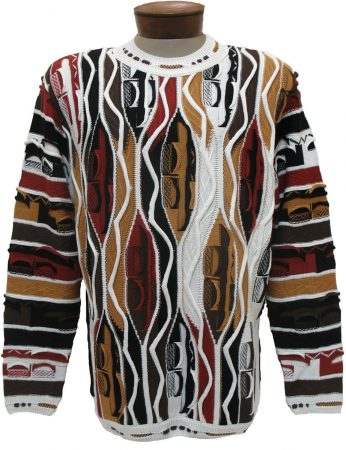 Men's Tundra, Coogi Look Sweater by Steven Land #117 Moccasin