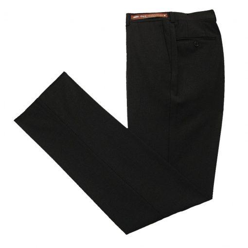 Men's Jack Victor Riviera Traveler Wool Blend Dress Pants Brown
