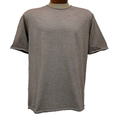 Men's Gionfriddo® Short Sleeve Made In Italy Hand Dyed Cotton Crew Neck Tee #GK517 Tan