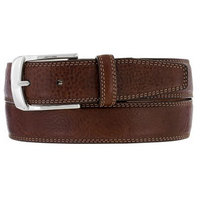 Men's Brighton Ventura Leather Belt, #M10385 Brown