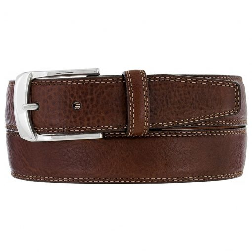 Men's Brighton Ventura Leather Belt, #M10385 Brown