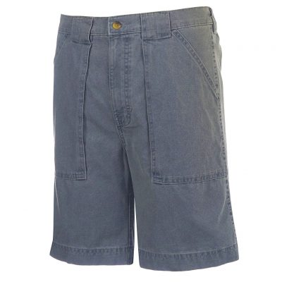 Men's Hook & Tackle® Beer Can Island® Long Neck Short #M019820 Chambray Blue