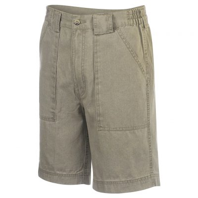Men's Hook & Tackle® Beer Can Island® Long Neck Short #M019820 Khaki