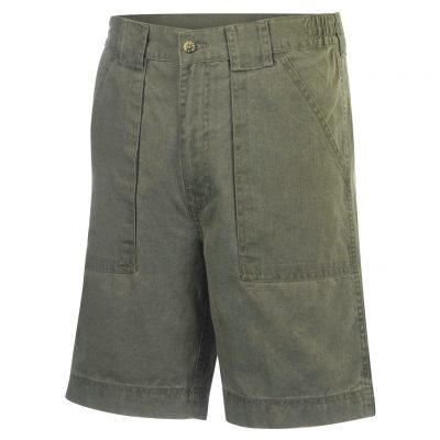 Men's Hook & Tackle® Beer Can Island® Long Neck Short #M019820 Olive