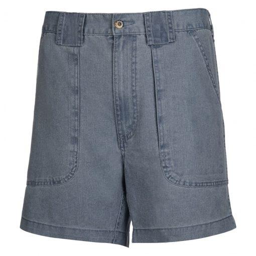 Men's Hook & Tackle Original Beer Can Island Shorts #M019800 Chambray Blue