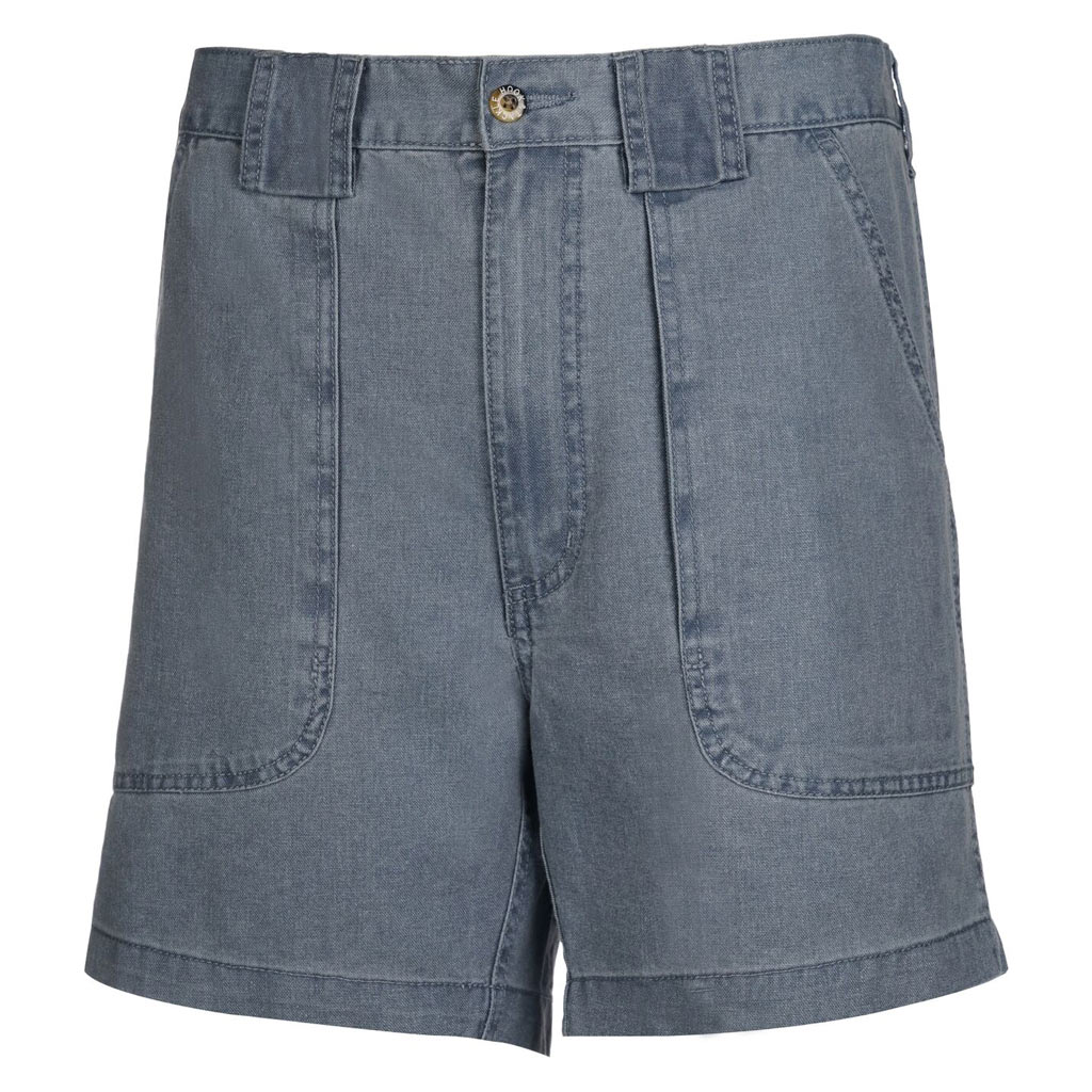 Men's Hook & Tackle Original Beer Can Island Shorts #M019800 Chambray Blue