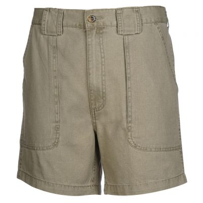 Men's Hook & Tackle Original Beer Can Island Short #M019800 Khaki