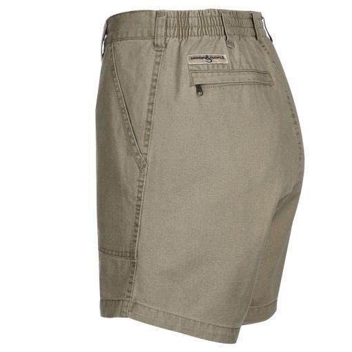 Men's Hook & Tackle Original Beer Can Island Short #M019800 Khaki
