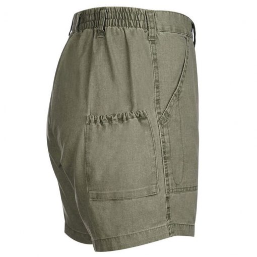 Men's Hook & Tackle Original Beer Can Island Short #M019800 Olive