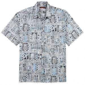 "Men's Tori Richard® Cotton Lawn Short Sleeve Shirt, Sweet Life #6385 Black ""USE COUPON TR1 WHEN YOU CHECK OUT"""