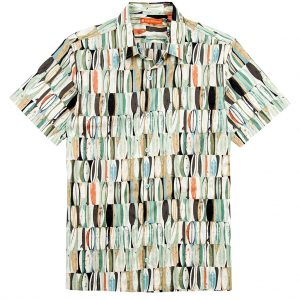 "Men's Tori Richard® Cotton Lawn Short Sleeve Shirt, Board Room #6383 Green ""USE COUPON TR1 WHEN YOU CHECK OUT"""