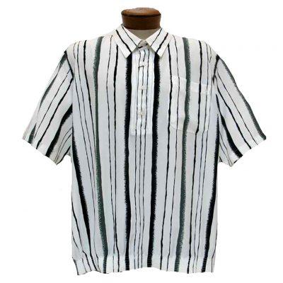 Men's Bassiri® Short Sleeve Banded Bottom Shirt #37105