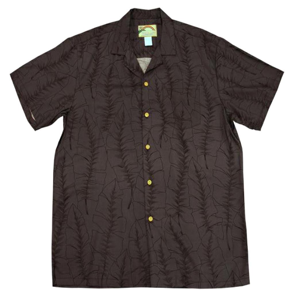 Men 39 s paradise found aloha short sleeve camp shirt banana for Mens short sleeve camp shirts