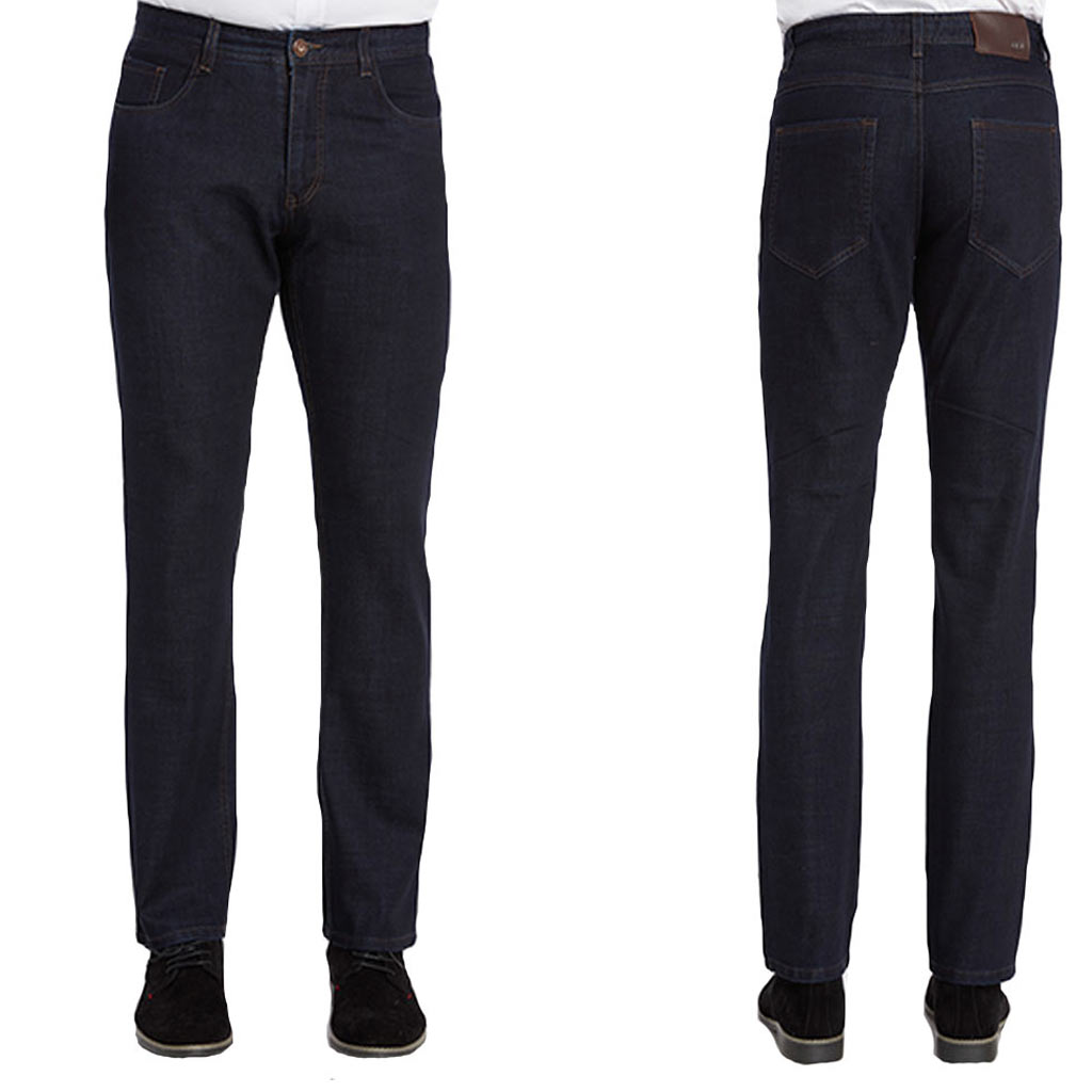Men's ENZO® Denim Collection Jeans , Alpha-63 Dark Indigo
