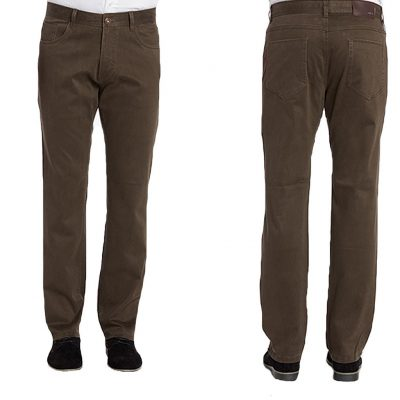 Men's ENZO® Denim Collection Jeans, Alpha-77 Brown