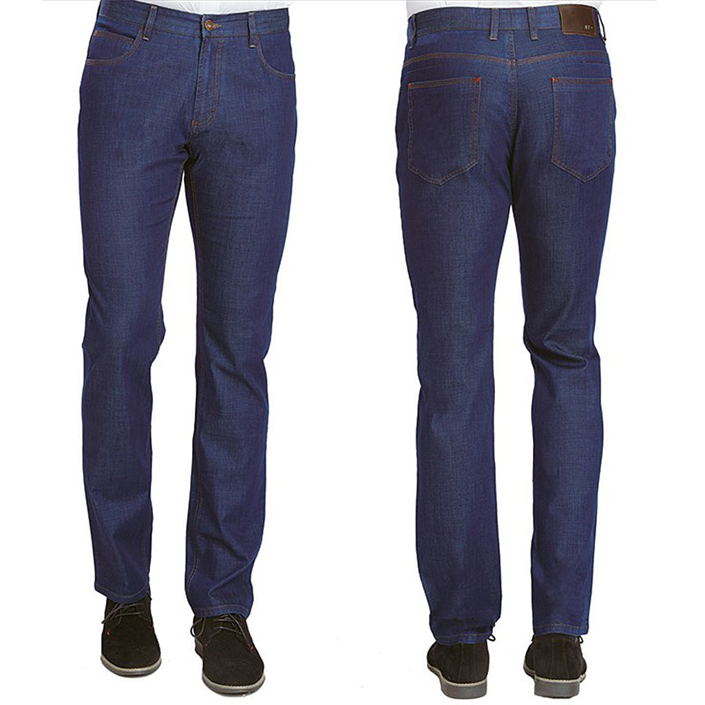 Men's ENZO® Denim Collection Jeans, Nick-1B Light Indigo