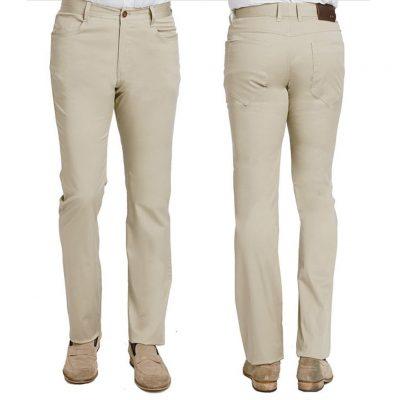 Men's ENZO® Denim Collection Jeans, Pablo-18 Light Khaki