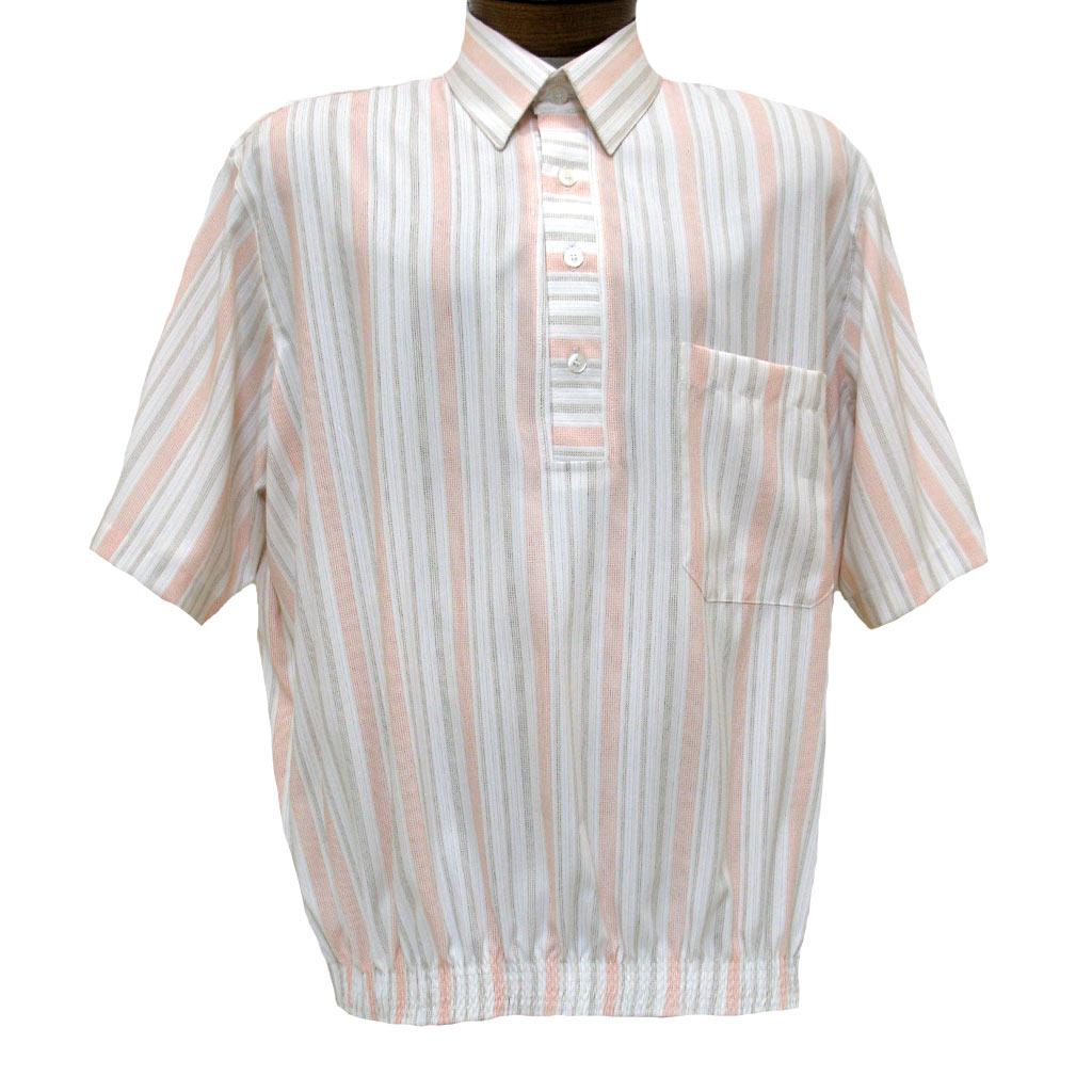 Men's D'Accord® Short Sleeve Banded Bottom Shirt #6438