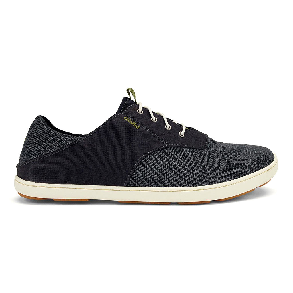 Men's OluKai® Nohea Moku Shoe #10283 Black / Black