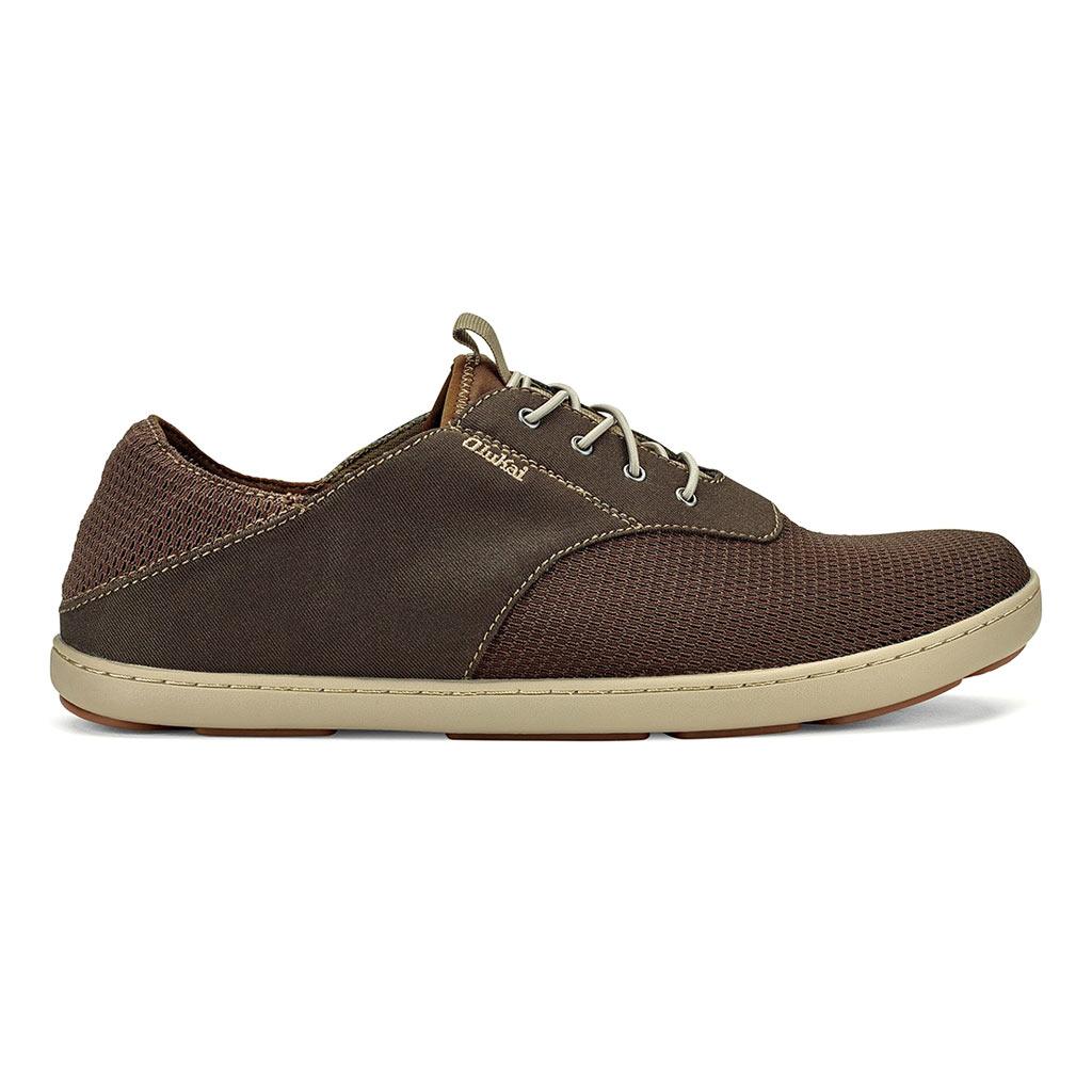 Men's OluKai® Nohea Moku Shoe #10283 Dark Wood / Dark Wood
