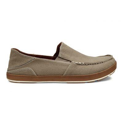 Men's Olukai® Puhalu Canvas Slip-On Shoe #10294 Clay / Toffee