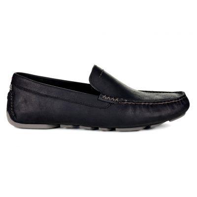Men's UGG® Henrick Leather Shoe #1017317, Black