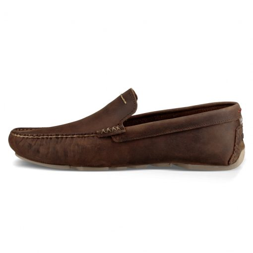 Men's UGG® Henrick Leather Shoe #1017317, Red Clay