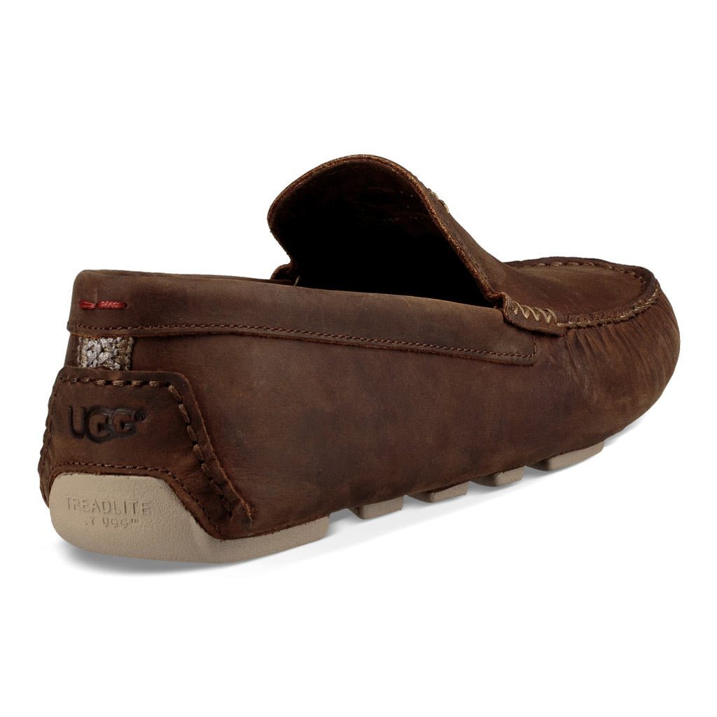 bdd986acb49 Men's UGG Henrick Leather Shoe #1017317, Red Clay (SOLD OUT!) - Richard  David for Men
