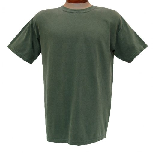 Men's R. Options by Basic Options® Short Sleeve Pigment Dyed Tee, Olive
