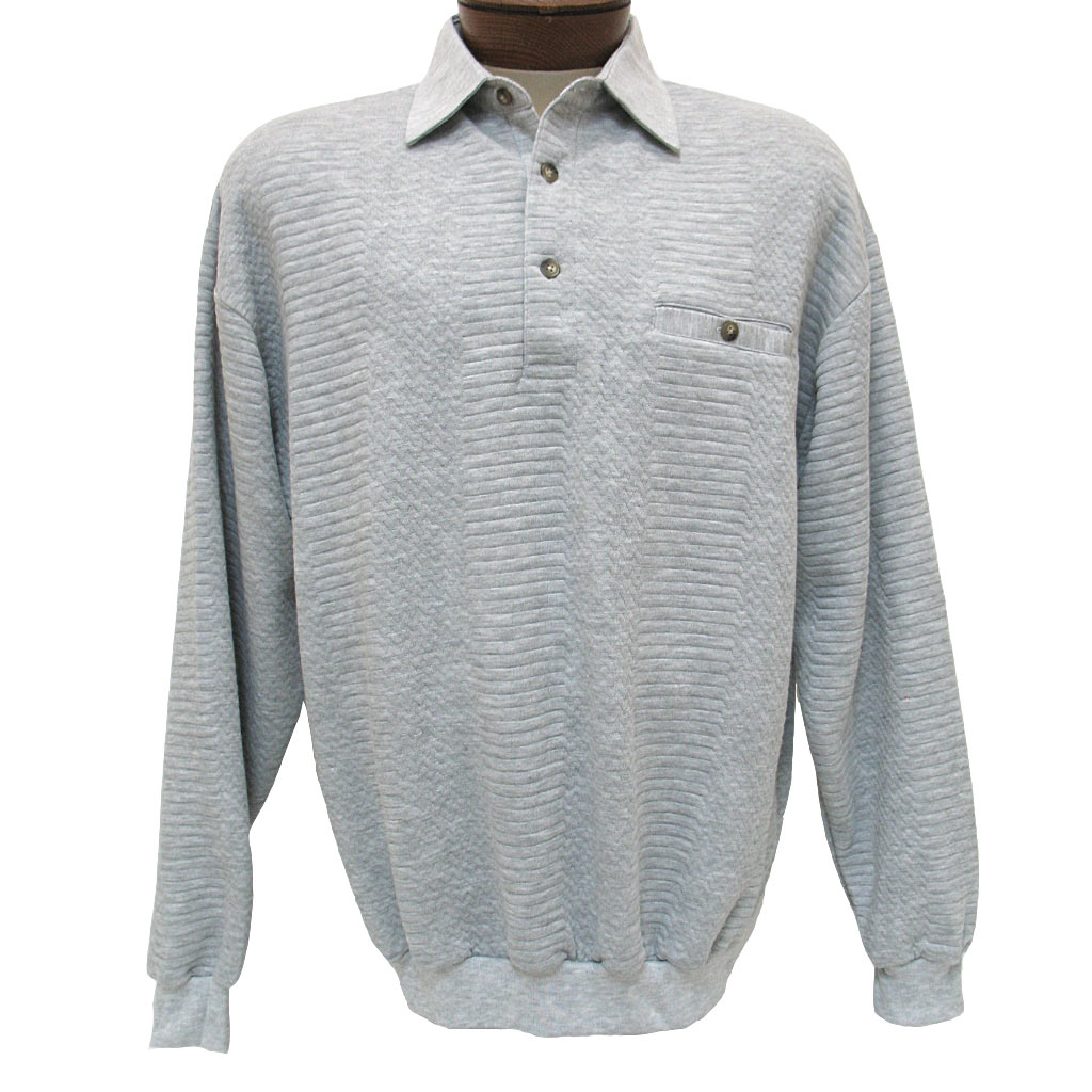 men 39 s ld sport by palmland long sleeve solid textured