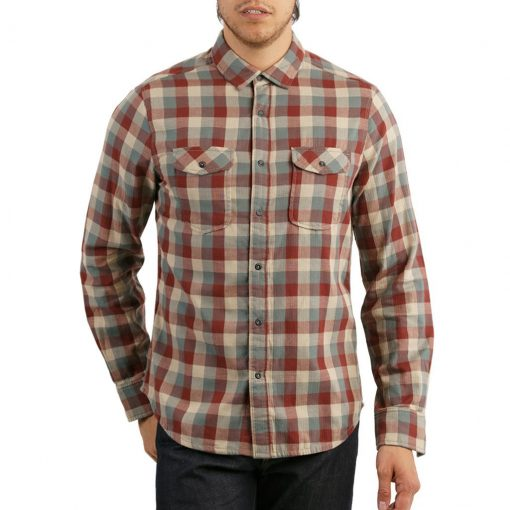 Men's Jeremiah® Long Sleeve 100% Cotton Reversible Plaid With Print, Buffalo Aspen