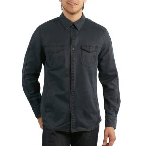 """Men's Jeremiah® Long Sleeve Suede Cotton Snap Button Front  Shirt Jacket, Colt Inkwell """"USE COUPON J2 AT CHECK OUT"""""""