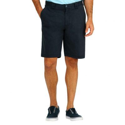 Men's Tori Richard® Brushed Cotton Enzyme Washed Carmel Short, #1787-2613-Midnight