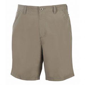 Men's Shorts, Weekender Flat Front Travel Stretch Technology, Sandalwood Khaki
