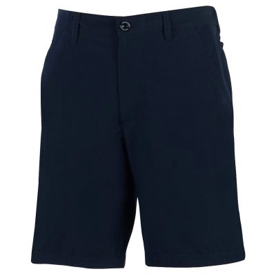Men's Shorts, Weekender Flat Front Travel Stretch Technology, Sandalwood Navy