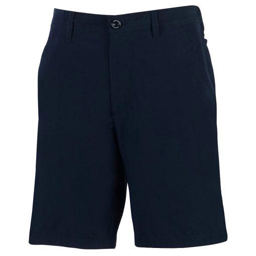 Men's Shorts, Weekender Flat Front Travel Stretch Technology, Sandalwood Navy