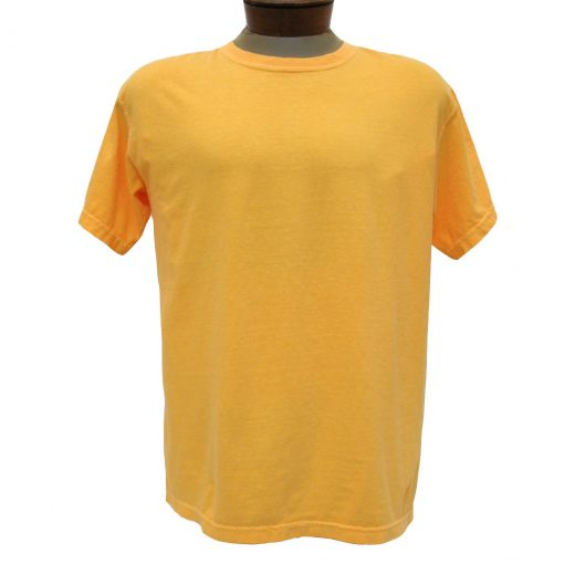 Men's R. Options by Basic Options® Short Sleeve Pigment Dyed Tee, Tangerine