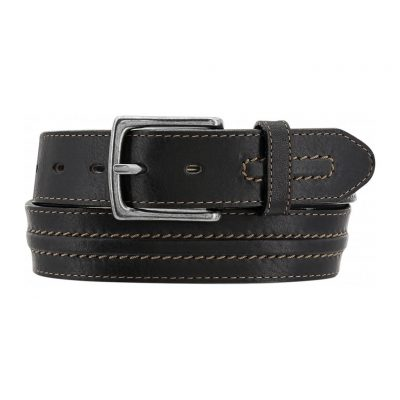 Men's Belt By Brighton Las Plams Leather, #M70905 Black