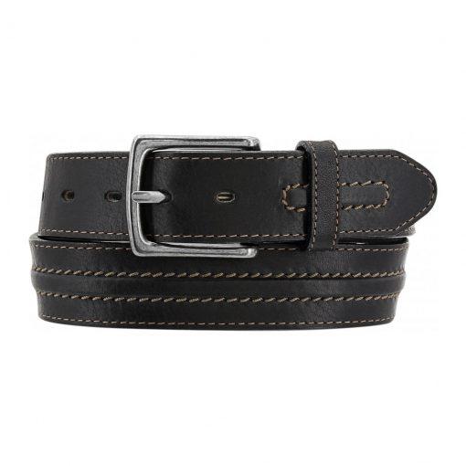 Men's Belt By Brighton Las Plams Leather, #M70905 Black