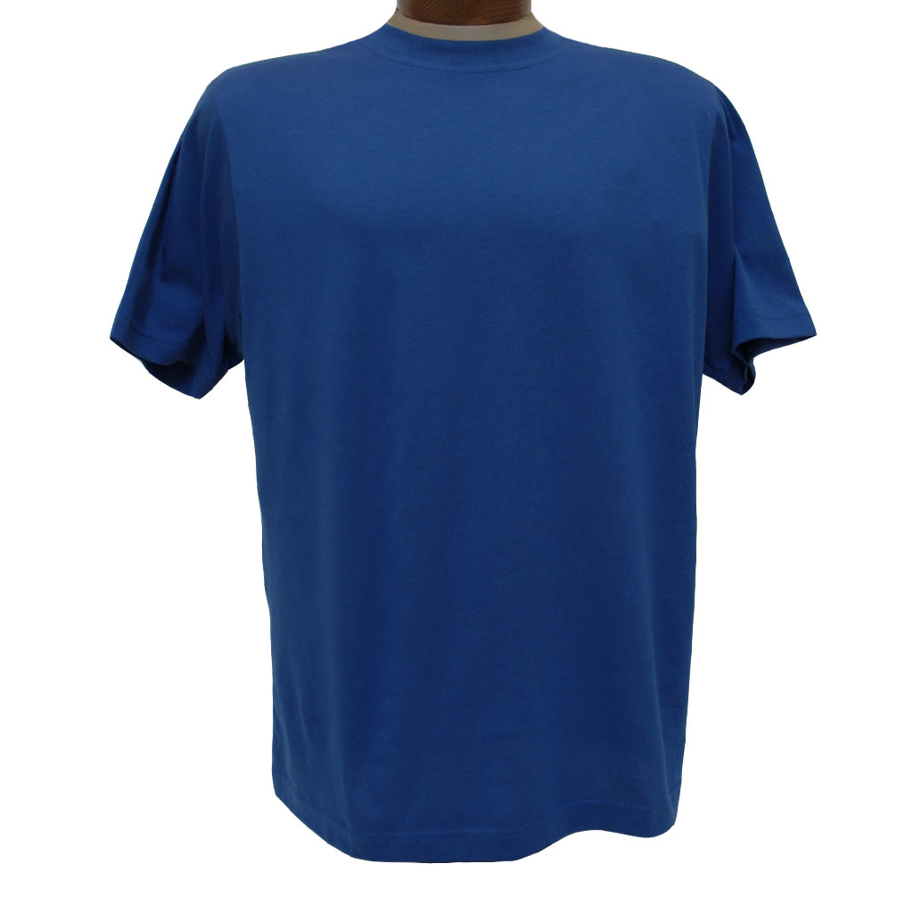 2a4377826e1f Men's Gionfriddo Short Sleeve 100% Pima Cotton Traditional Fit Crew Neck Tee  #GK2004 Royal Blue (SOLD OUT!)