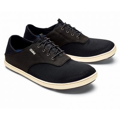 Men's OluKai Nohea Moku Shoe #10283 Onyx/Onyx
