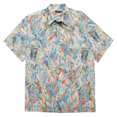 Men's Shirt, Tori Richard Cotton Lawn Relaxed Fit Short Sleeve, Quite Lush #6452