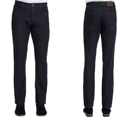 Men's ENZO Denim Collection Jeans , Alpha-1 Dark Indigo